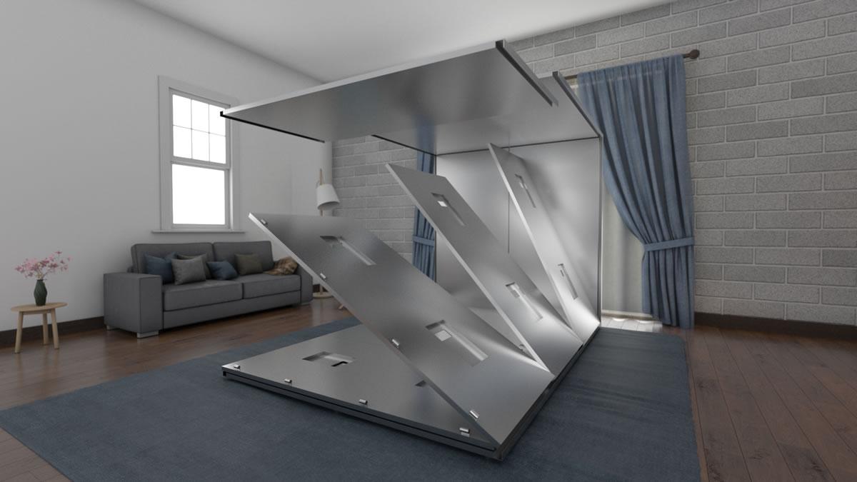 Camera antitarlo microonde per mobili e arredi di prestigio di valore